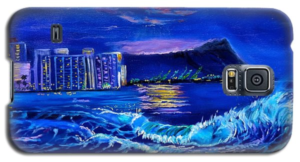 Waikiki Lights Galaxy S5 Case