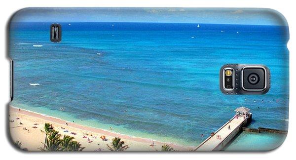 Waikiki Paradise Galaxy S5 Case by Kristine Merc