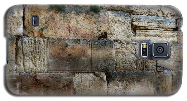 Galaxy S5 Case featuring the photograph Wailing Wall In Israel by Doc Braham