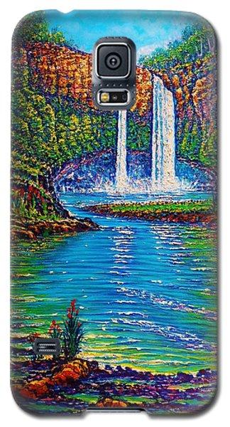 Wailua Falls I  Galaxy S5 Case