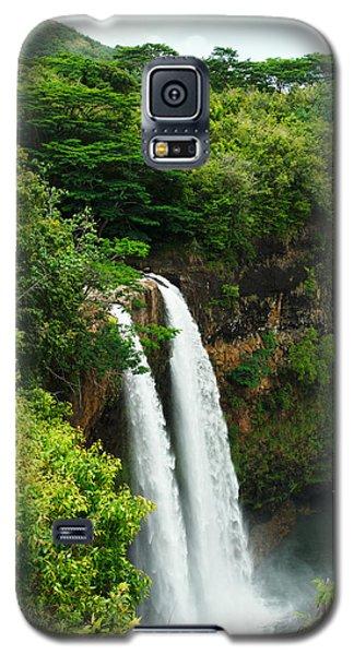 Galaxy S5 Case featuring the photograph Wailua Falls Kauai by Photography  By Sai