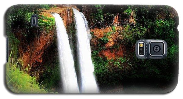 Wailua Falls Galaxy S5 Case by Kristine Merc
