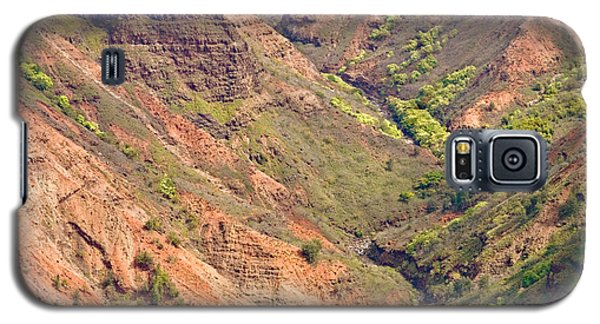 Waimea Canyon Abstract Galaxy S5 Case