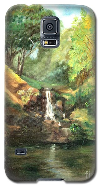 Waimea Falls Oahu Hawaii - 1970 Galaxy S5 Case