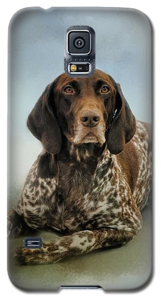 Waiting For A Cue - German Shorthaired Pointer Galaxy S5 Case