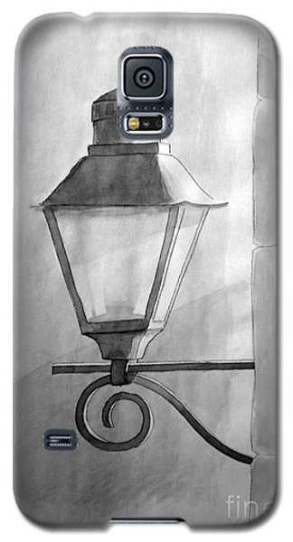 Galaxy S5 Case featuring the painting Waiting For Night by Eleonora Perlic