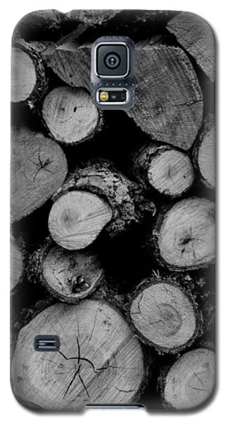 Waiting For The Fireplace 002 Galaxy S5 Case by Dorin Adrian Berbier