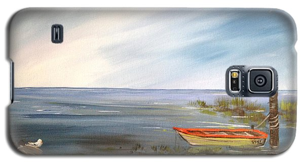 Waiting For The Fisherman Galaxy S5 Case by Dorothy Maier