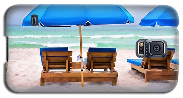 Panama City Beach Digital Painting Galaxy S5 Case