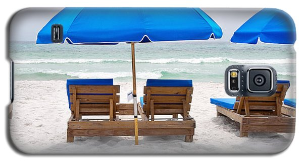 Panama City Beach Florida Empty Chairs Galaxy S5 Case