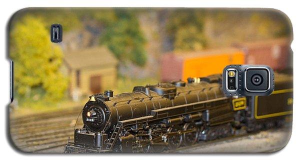 Waiting Model Train  Galaxy S5 Case