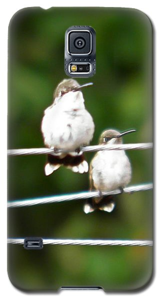 Galaxy S5 Case featuring the photograph Waiting Our Turn by Nick Kirby