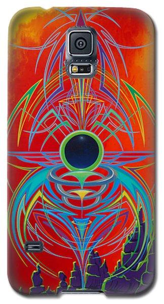 Waiting Over Sedona Galaxy S5 Case