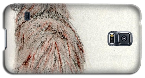 Galaxy S5 Case featuring the painting Waiting by Stephanie Grant