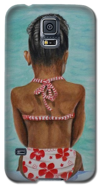 Waiting To Swim Galaxy S5 Case