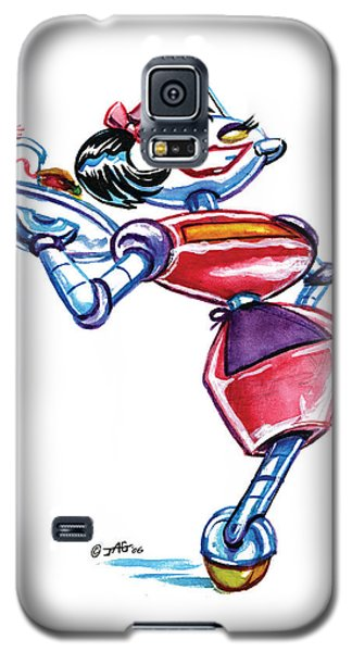 Waitress Robot Galaxy S5 Case