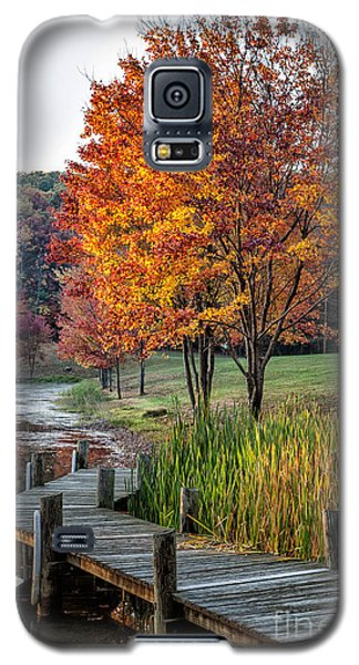 Walk Into Fall Galaxy S5 Case