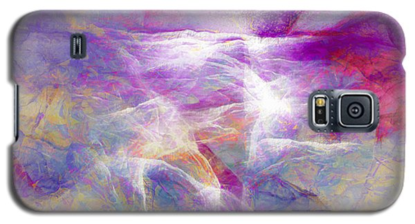 Walk On Water - Abstract Art Galaxy S5 Case
