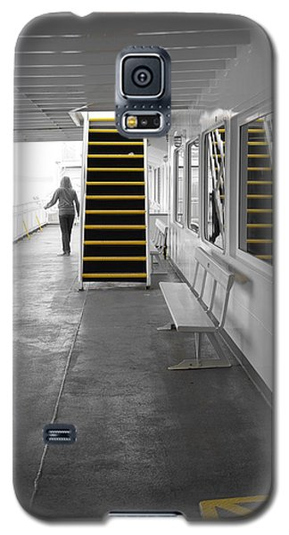 Galaxy S5 Case featuring the photograph Walk This Way by Marilyn Wilson