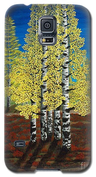 Walk Through Aspens Triptych 2 Galaxy S5 Case