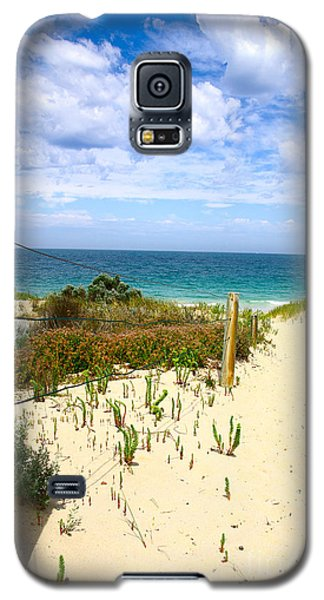 Galaxy S5 Case featuring the photograph Walk To The Beach by Serene Maisey