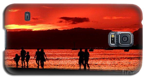 Walk To The Light Galaxy S5 Case by Kristine Merc