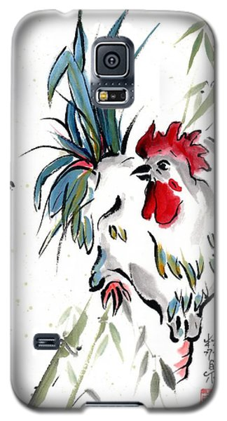 Galaxy S5 Case featuring the painting Walkabout by Bill Searle