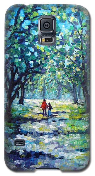 Walking In The Park Galaxy S5 Case