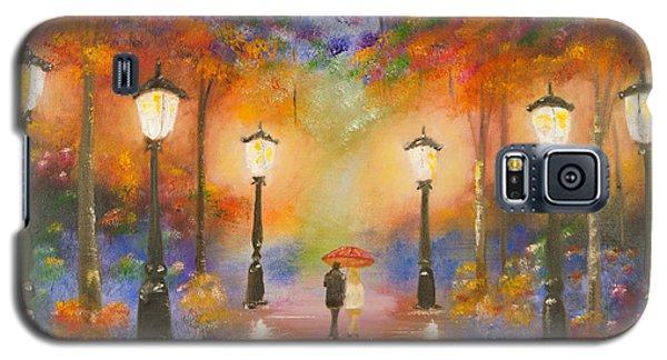 Walking In The Rain Galaxy S5 Case