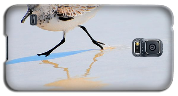 Walking Shorebird  Galaxy S5 Case
