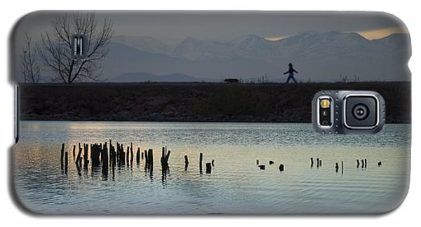 Walking The Dog Galaxy S5 Case