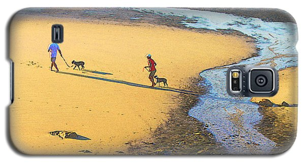 Walking The Dogs Galaxy S5 Case