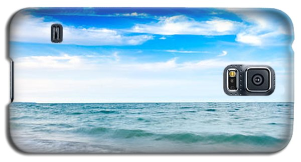 Walking The Shore - Extended Galaxy S5 Case