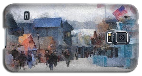 Walking The Wharf Galaxy S5 Case