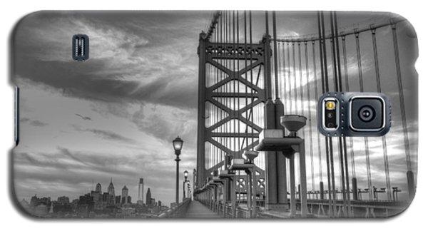 Walking To Philadelphia Galaxy S5 Case by Jennifer Ancker