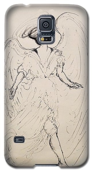 Walking With An Angel Galaxy S5 Case