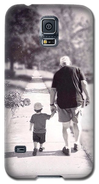 Walking With Grandpa Galaxy S5 Case