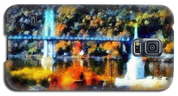Walkway Over The Hudson Autumn Riverview Galaxy S5 Case