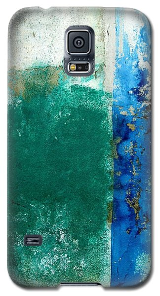 Galaxy S5 Case featuring the digital art Wall Abstract 159 by Maria Huntley