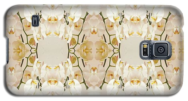 Wall Of Orchids Panorama Galaxy S5 Case