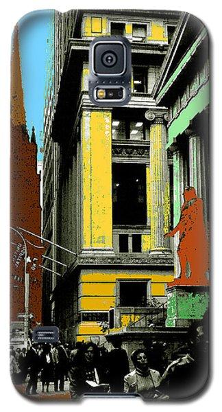 New York Pop Art 99 - Color Illustration Galaxy S5 Case