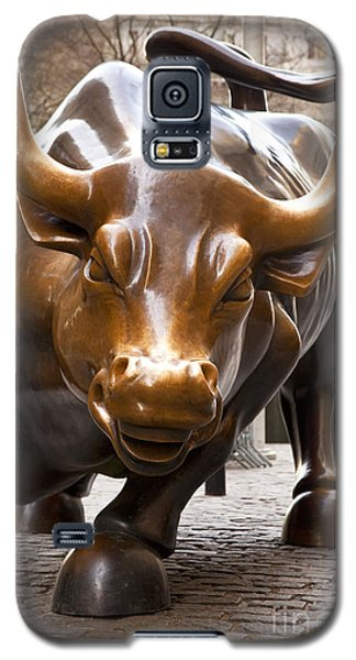 Wall Street Bull Galaxy S5 Case