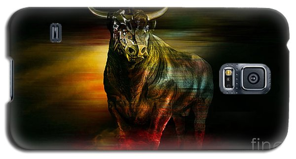 Wall Street Machine  Galaxy S5 Case by Marvin Blaine