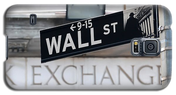 Wall Street New York Stock Exchange Galaxy S5 Case