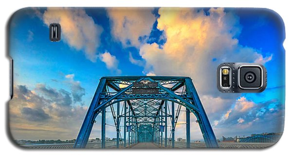 Walnut Street Walking Bridge Galaxy S5 Case by Steven Llorca