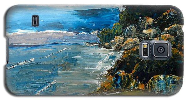 Walomwolla Beach Galaxy S5 Case by Pamela  Meredith