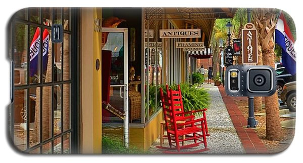 Walterboro Sc Sidewalk Galaxy S5 Case by Bob Sample