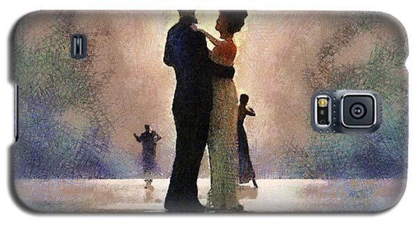 Waltz Like A Mirage Galaxy S5 Case by Georgi Dimitrov