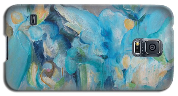 Galaxy S5 Case featuring the painting Wandering Away II by Elis Cooke