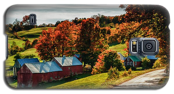 Wandering Down The Road Galaxy S5 Case by Jeff Folger